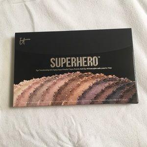 BRAND NEW it superhero eyeshadow pallet